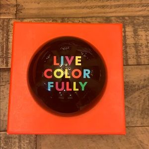 LIKE NEW Kate Spade ♠️ LIVE COLORFULLY Paperweight